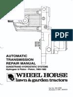 Sunstrand Hydro Service Manual