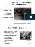 The Future of the Travel Industry - Scenarios for 2020