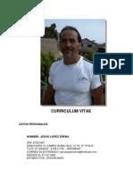Curriculum Jesús López