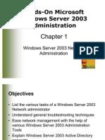 Windows Server 2003 Network Administration