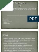 Privatisation of VSNL