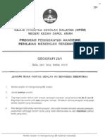 2011 PPMR Kedah Geografi w Ans