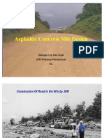 Asphaltic Concrete Mix Design