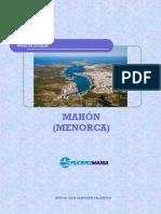 Guía Cruceromania de Mahón (Menorca)