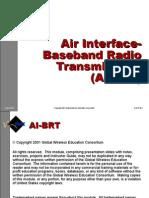 2g Air Interface Baseband Radio Transmission