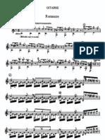 Gran Sonata Para Guitarra Con Acompañamiento de Violin de Paganini 2do Mov.