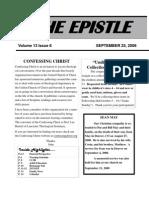 EPISTLE 2008-09