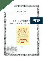 Baroja Pio - La Caverna Del Humorismo