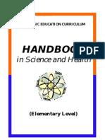 2002 Basic Education Curriculum Handbook Elementary Science Health