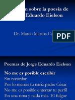 Reflexión sobre la poesía de Eielson 2 - Marco Martos