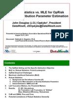 J.D. Opdyke - Robust Stats - ABA Presentation - 08-08-11 - Updated Scrib