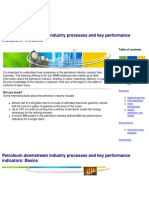 Downstream Industry Process & KPI