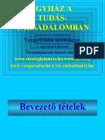 Egyház a tudástársadalomban - 2005 - Varga Csaba