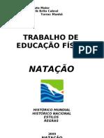 Trb. de Ed. Física (NATAÇÃO)