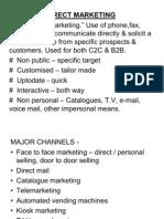 Direct Marketing & Consumerism PPT