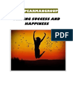 Finding Success and Happiness