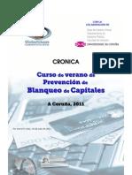 Cronica Curso de Verano Blanqueo Capitales