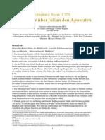 Ephräm d. Syrer - Vier Lieder über Julian den Apostaten