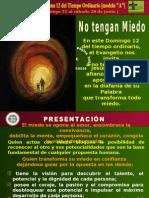 ORAR en 12va Semana Del Tiempo Ordinario 2008 - A