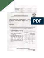 Percubaan UPSR 2011 - Bahasa Inggeris ( Melaka ) Kertas 2