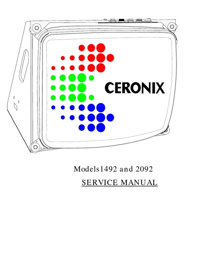 CERONIX 24V 60W Power Supply
