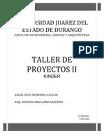 PROYECTO JARDIN DE NIÑOS
