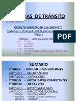 D.S. 016-2009-MTC-ÚLTIMO1
