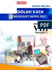 Word2007 Basic SMPkls8