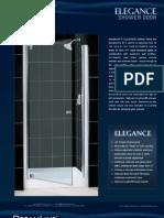 DreamLine Showers Shower Doors Elegance
