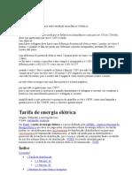 Diferença entre tarifação monofásica e bifásica