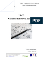 Compilação de Temas leccionados CFA