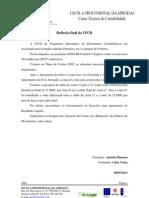 Reflexão de Tratamento Informático de Documentos Contabilísticos
