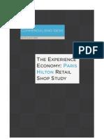 Experience Economy - Paris Hilton Retail Shop Case Study by Jens Gregersen
