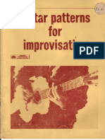 Guitar Patterns for Improvisation - W. Fowler