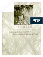 Manual Tecnico Poda Derribo Trasplante Arboles
