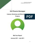 Project Report GVI Phoenix Nicaragua - Jan-July 2011