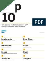 SAP - Top Ten Reasons Customers Choose SAP