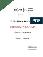 Trabalho de Economia (Sistema Monetário)