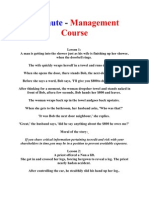 5 Minute - Management Course