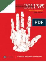 Informe Desarrollo Mundial. Banco Mundial. WDR2011