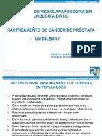 Rastreamento CA de Prostata