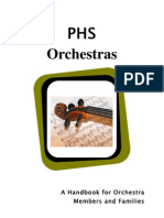11-12 PHS Orchestra Handbook