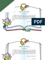 Diploma Campeões de leitura