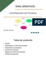 Class 02 Process Management SISTEMA OPERATIVO