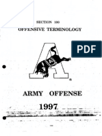 1997 Army Flexbone Offense