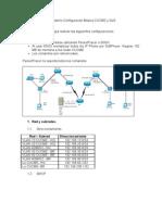 Laboratorio Configuración Básica CME y QoS 1