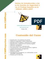 Norma OHSAS 18001 acerca de gestion de la seguridad en el trabajo