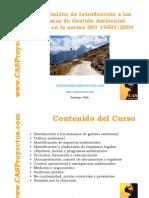 Norma ISO 14001 acerca de sistemas de gestion ambiental