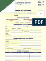 Doss Candidat Bac 2010