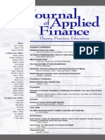 Behavioral Finance JAFFW2008